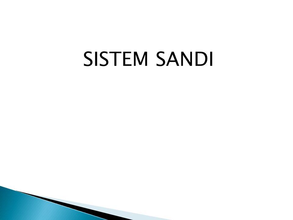SISTEM SANDI