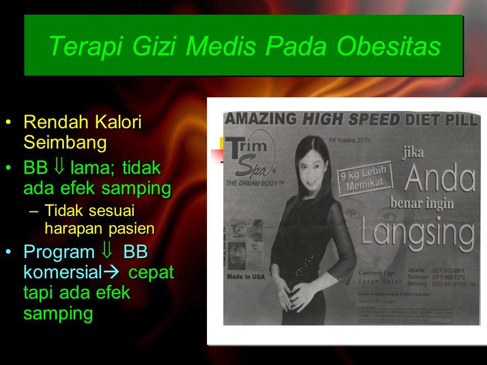 Terapi Gizi Medis Pada Obesitas