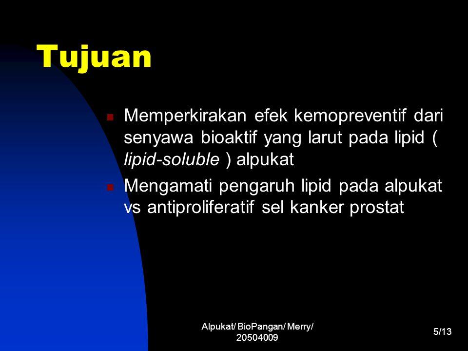 Alpukat/ BioPangan/ Merry/ 20504009