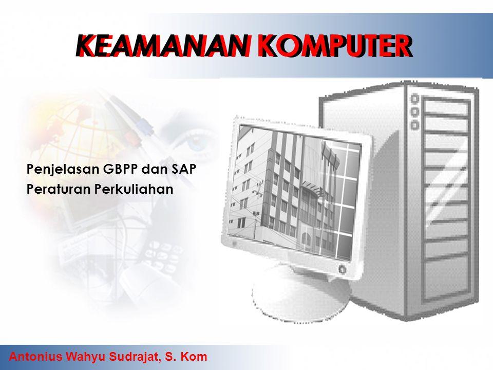 Penjelasan GBPP dan SAP Peraturan Perkuliahan