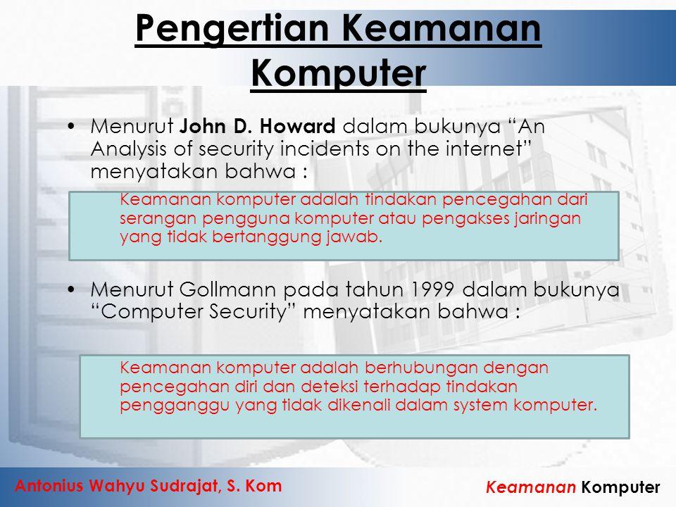 Pengertian Keamanan Komputer