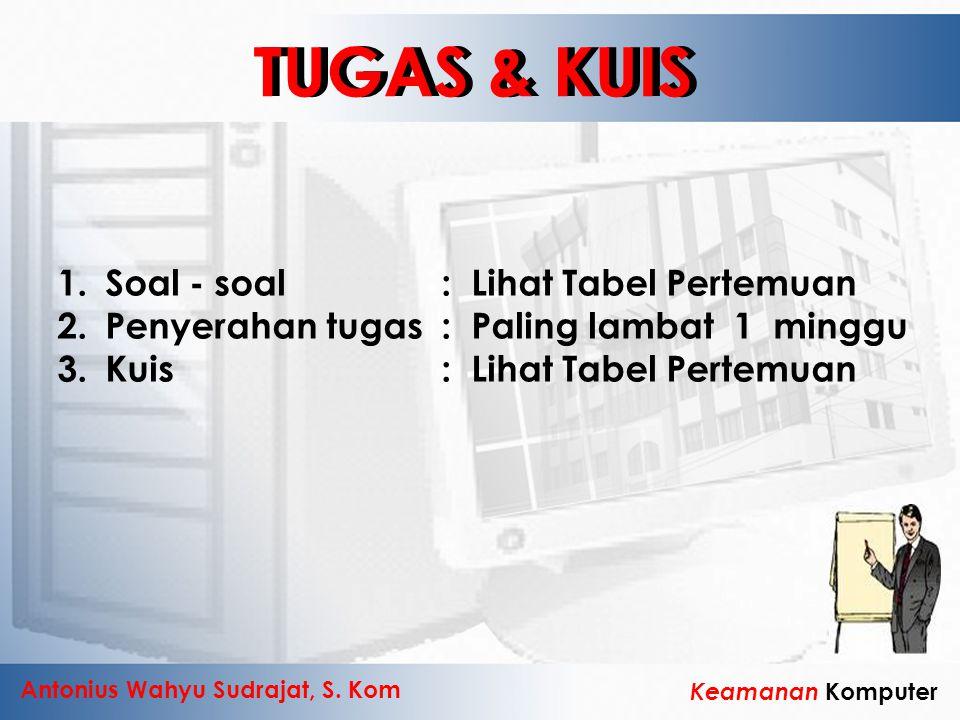 TUGAS & KUIS TUGAS & KUIS