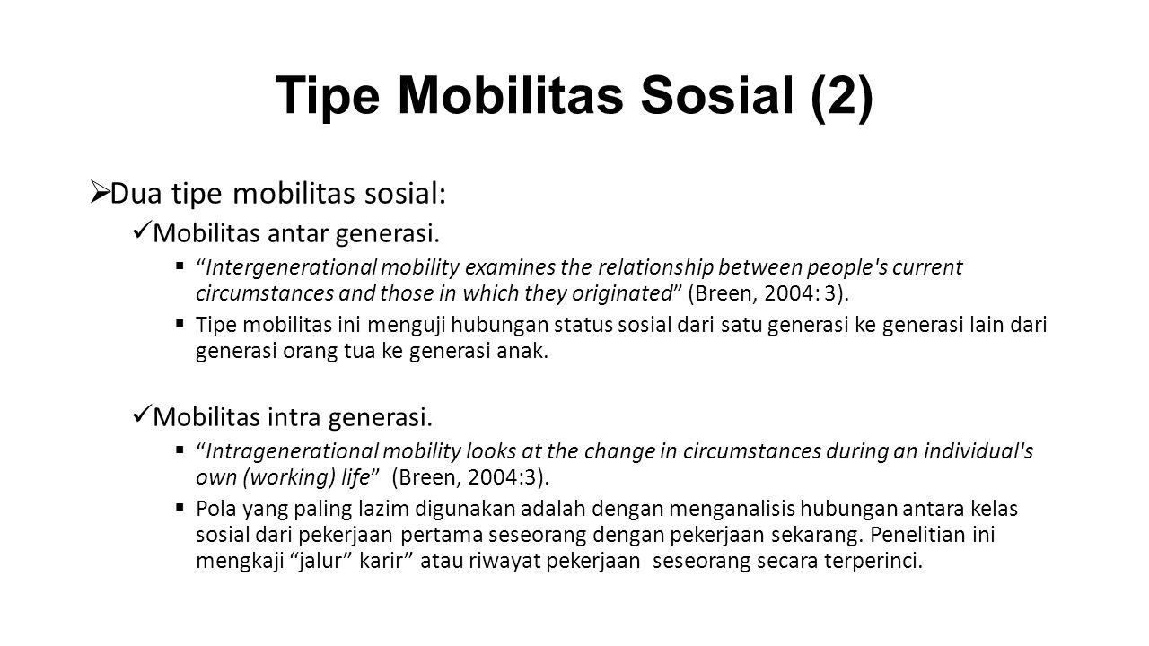 Tipe Mobilitas Sosial (2)