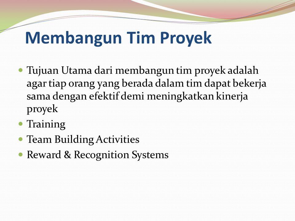 Membangun Tim Proyek