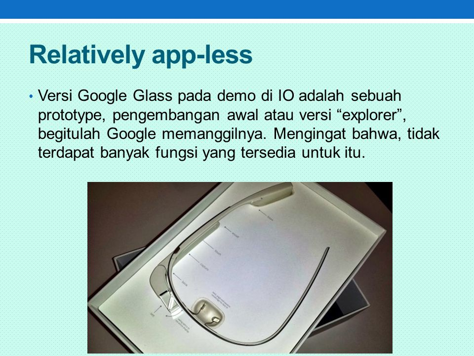 Relatively app-less