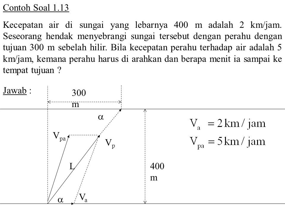 Contoh Soal 1.13