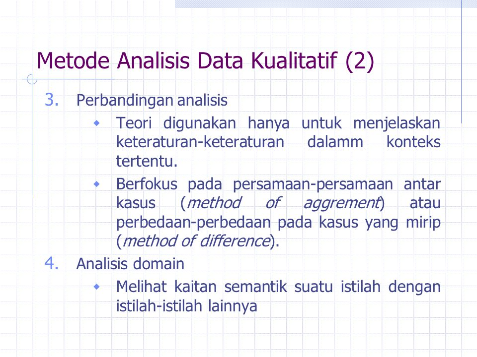 Metode Analisis Data Kualitatif (2)