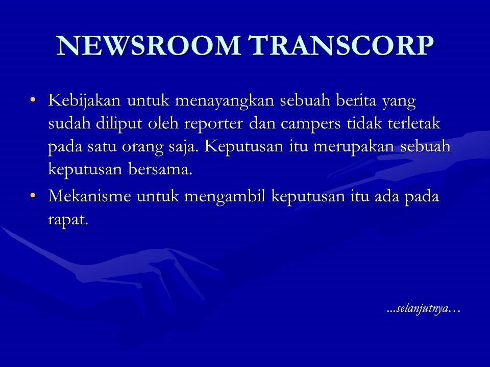 NEWSROOM TRANSCORP