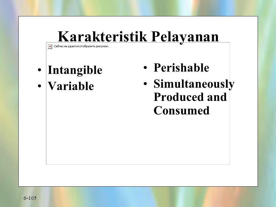 Karakteristik Pelayanan