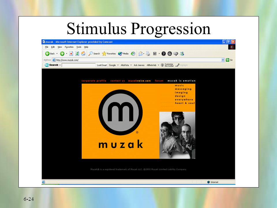 Stimulus Progression