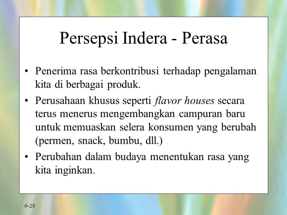 Persepsi Indera - Perasa