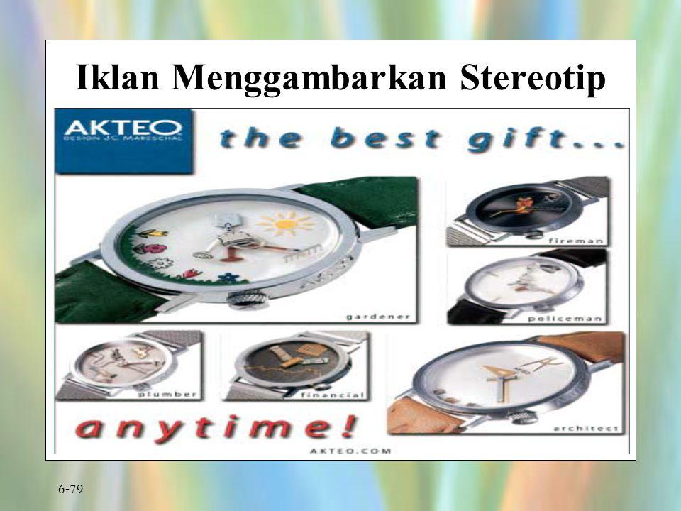 Iklan Menggambarkan Stereotip