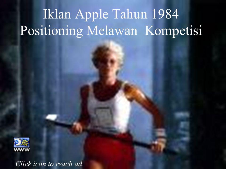 Iklan Apple Tahun 1984 Positioning Melawan Kompetisi
