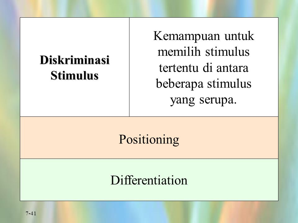 Diskriminasi Stimulus