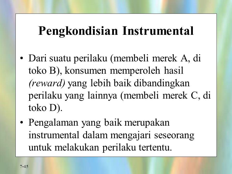 Pengkondisian Instrumental