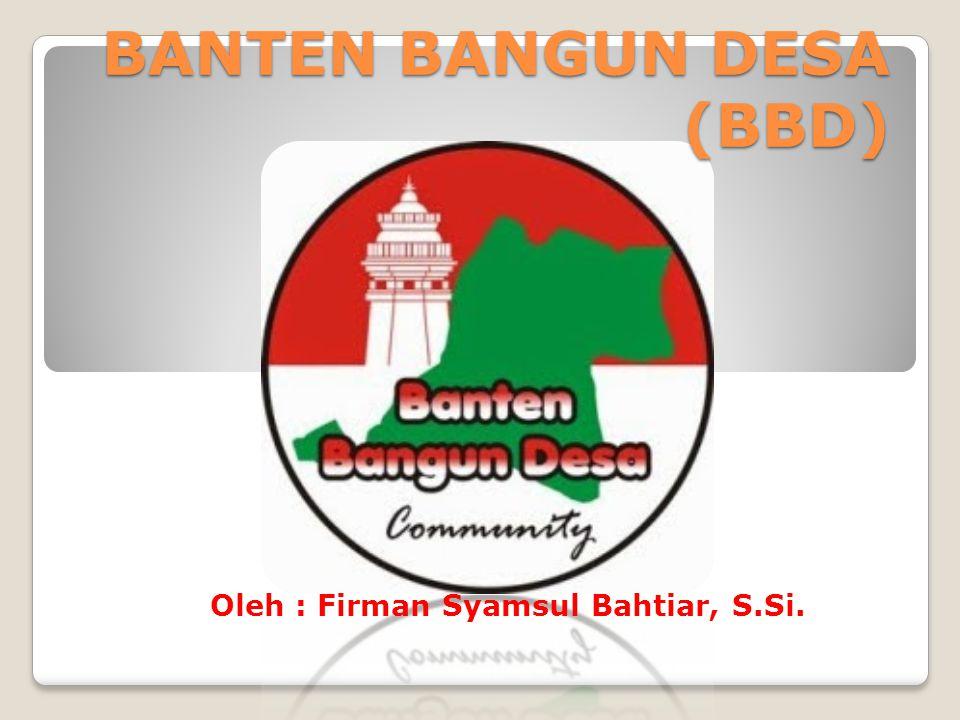 BANTEN BANGUN DESA (BBD)
