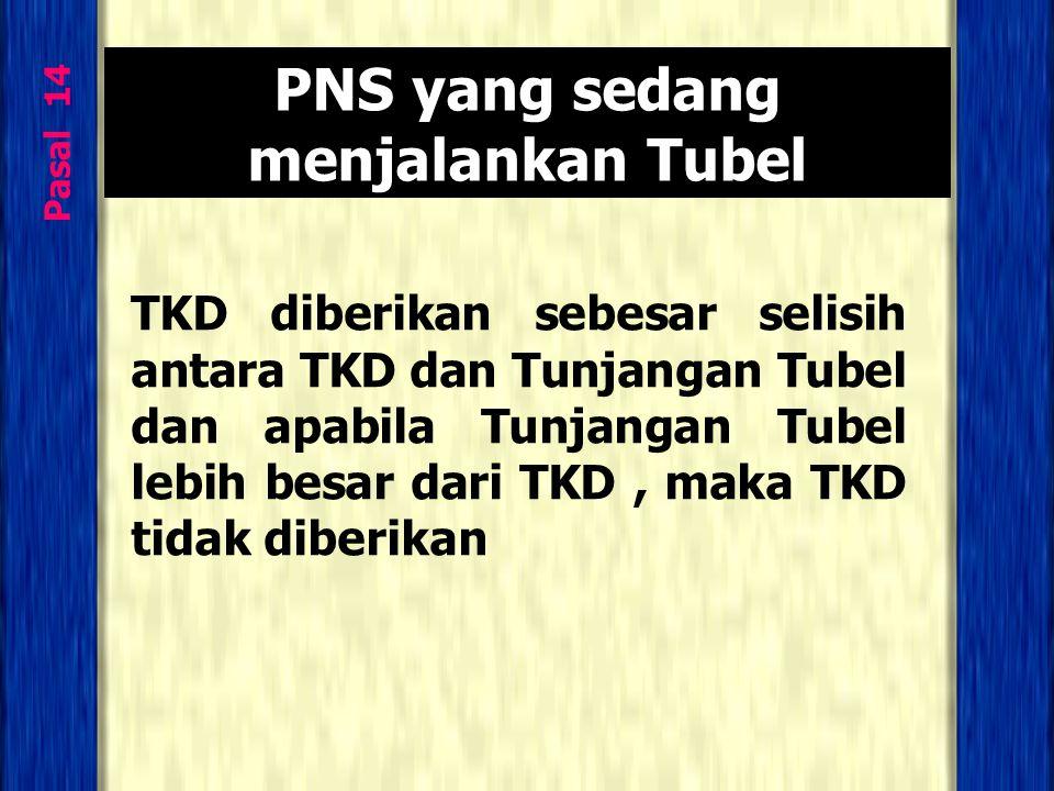 PNS yang sedang menjalankan Tubel