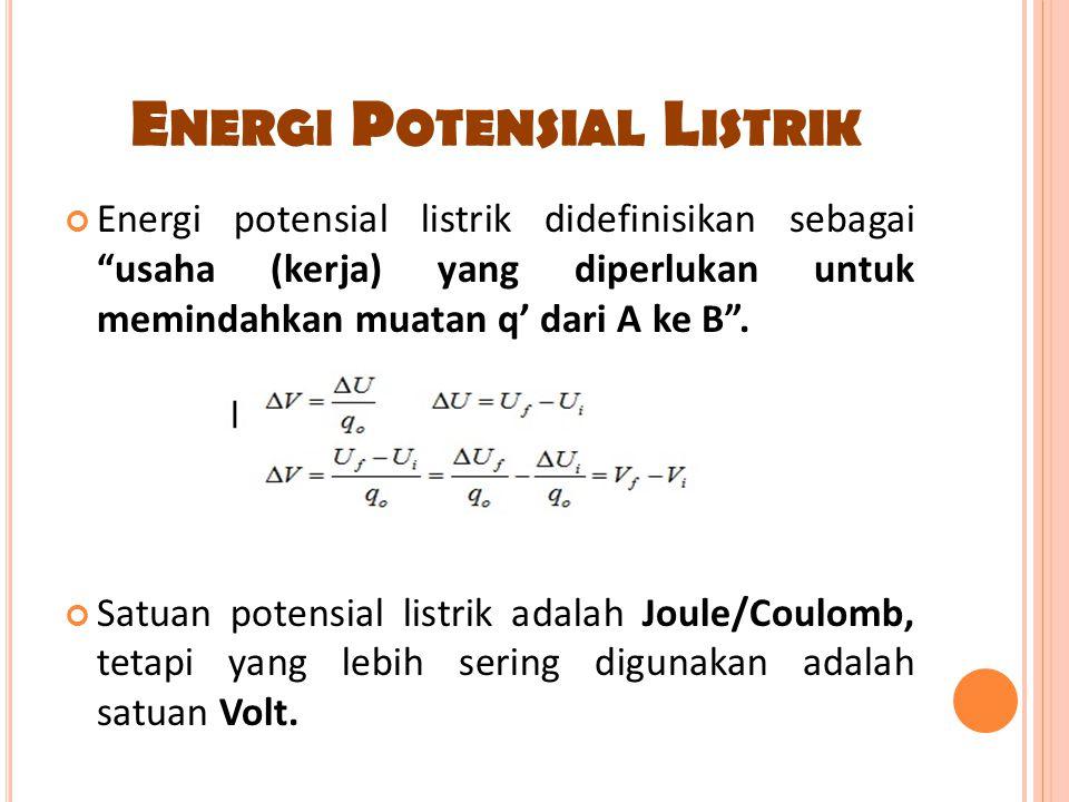 Energi Potensial Listrik