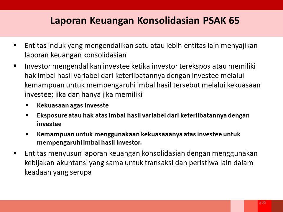 Laporan Keuangan Konsolidasian PSAK 65