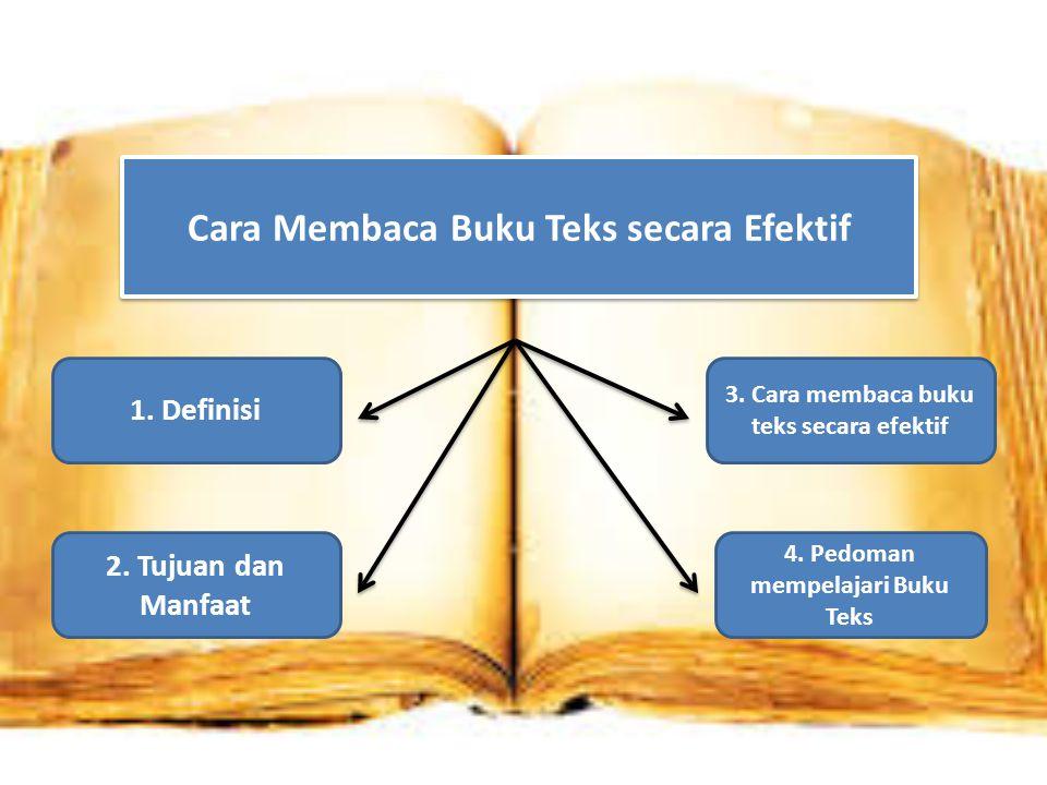 Cara Membaca Buku Teks secara Efektif