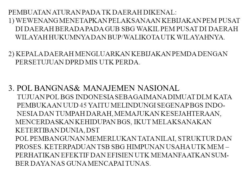 3. POL BANGNAS& MANAJEMEN NASIONAL