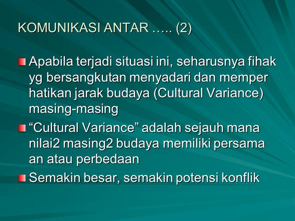 KOMUNIKASI ANTAR ….. (2)