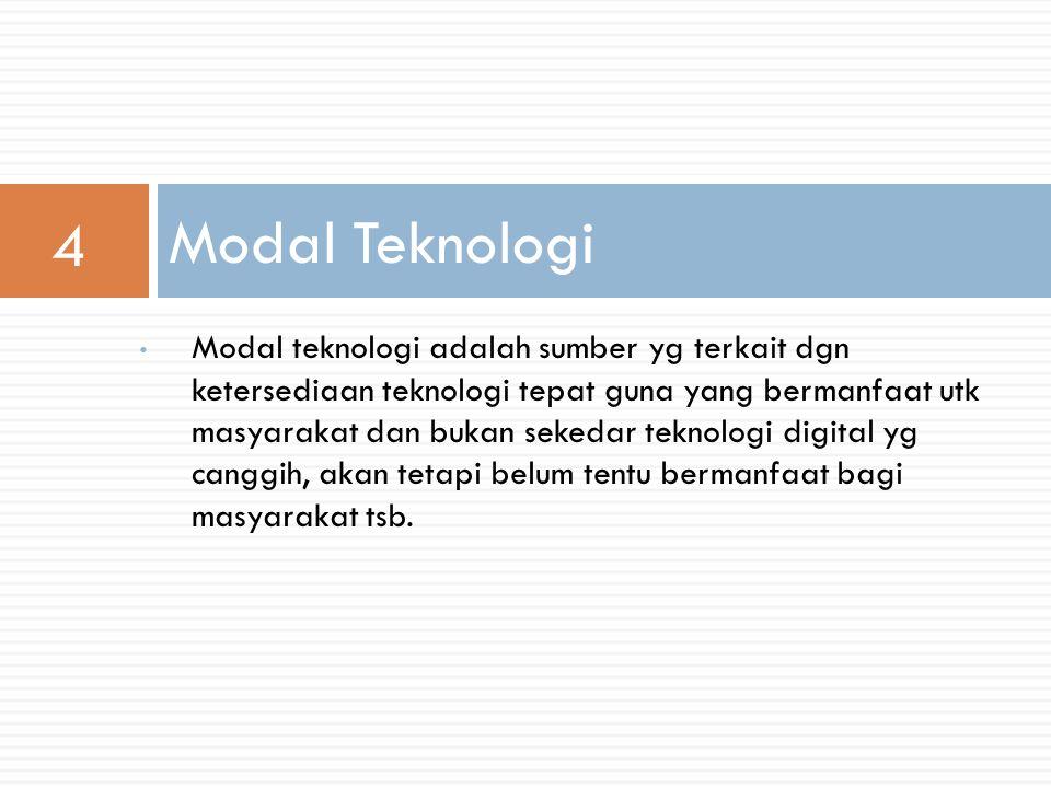 4 Modal Teknologi.