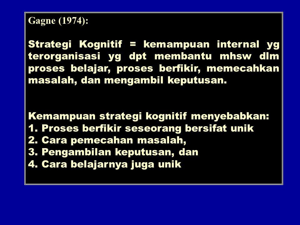 Gagne (1974):