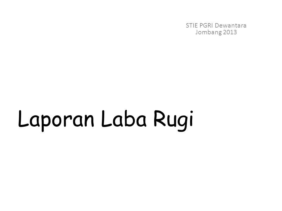 STIE PGRI Dewantara Jombang 2013