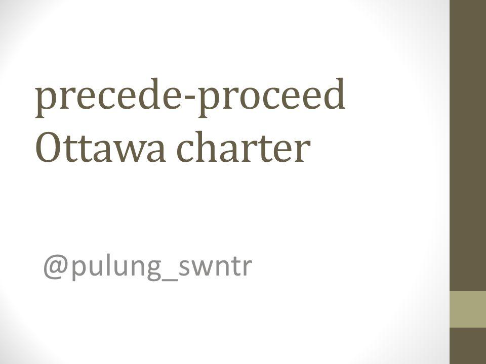 precede-proceed Ottawa charter