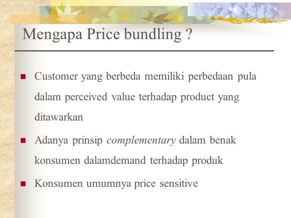 Mengapa Price bundling