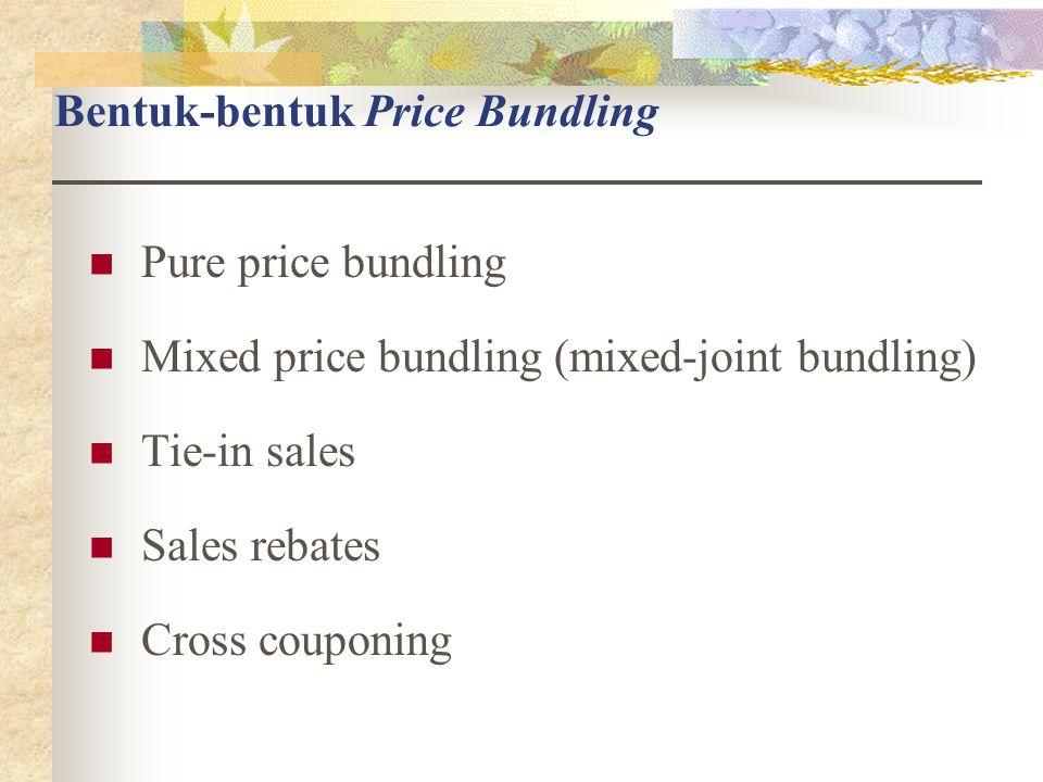 Bentuk-bentuk Price Bundling