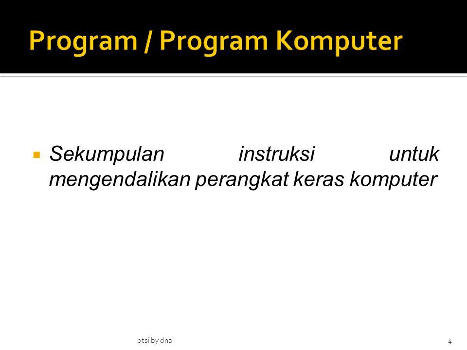 Program / Program Komputer