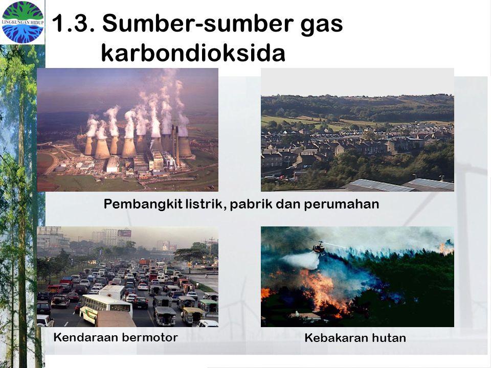 1.3. Sumber-sumber gas karbondioksida