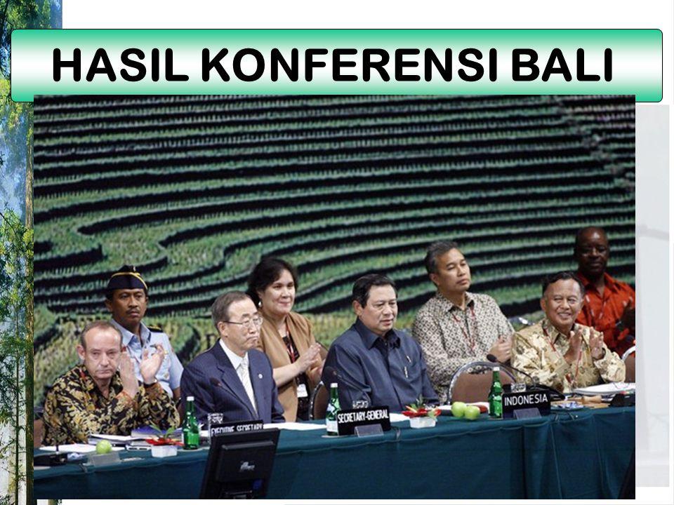 HASIL KONFERENSI BALI