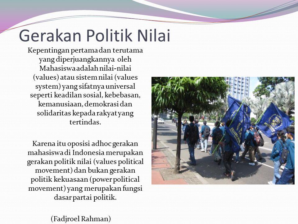 Gerakan Politik Nilai