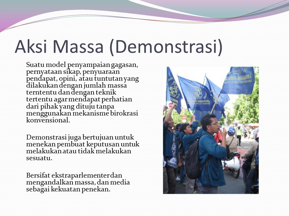 Aksi Massa (Demonstrasi)