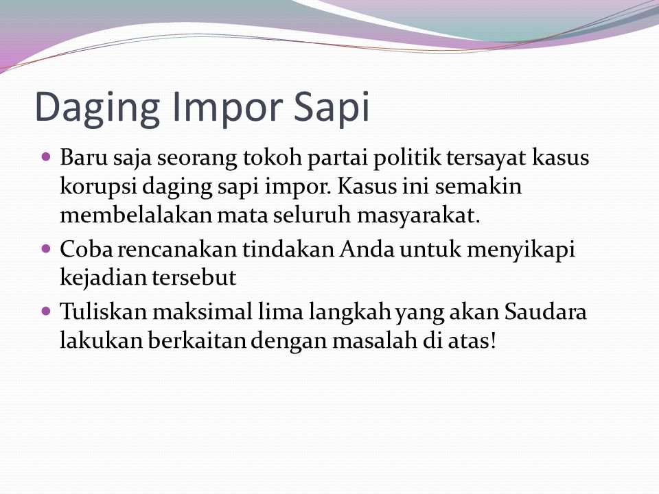 Daging Impor Sapi