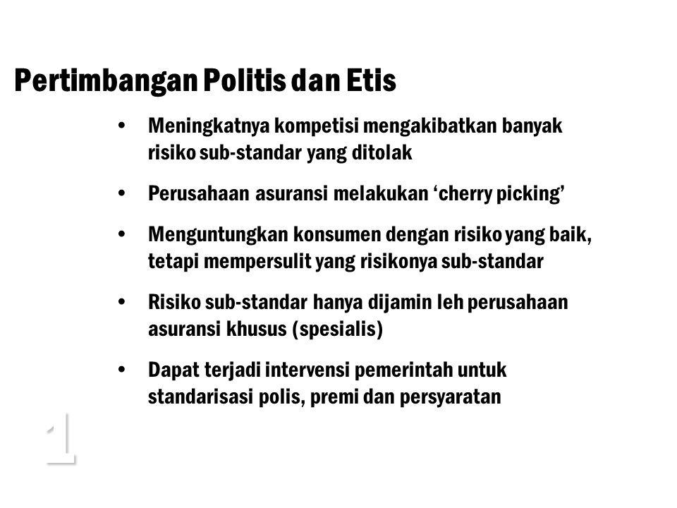 1 Pertimbangan Politis dan Etis
