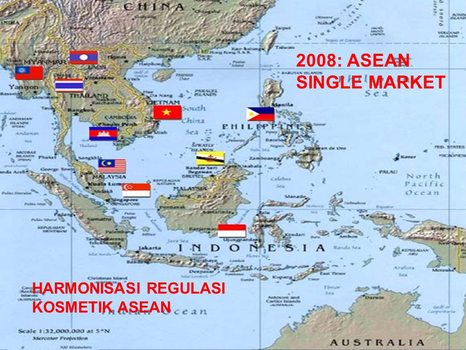 2008: ASEAN SINGLE MARKET HARMONISASI REGULASI KOSMETIK ASEAN
