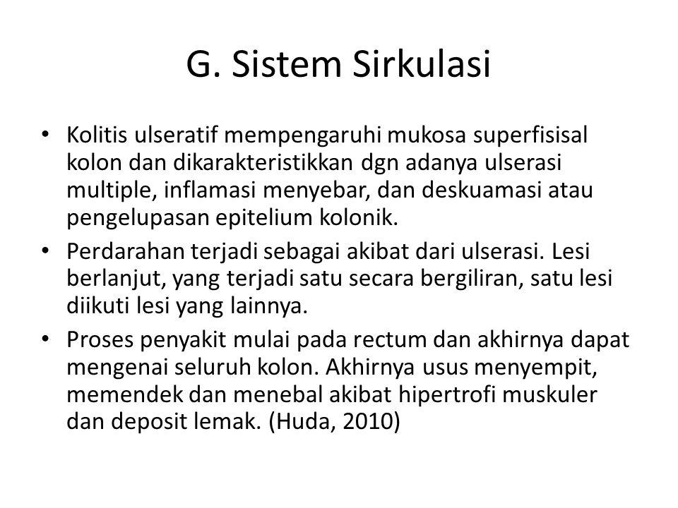 G. Sistem Sirkulasi