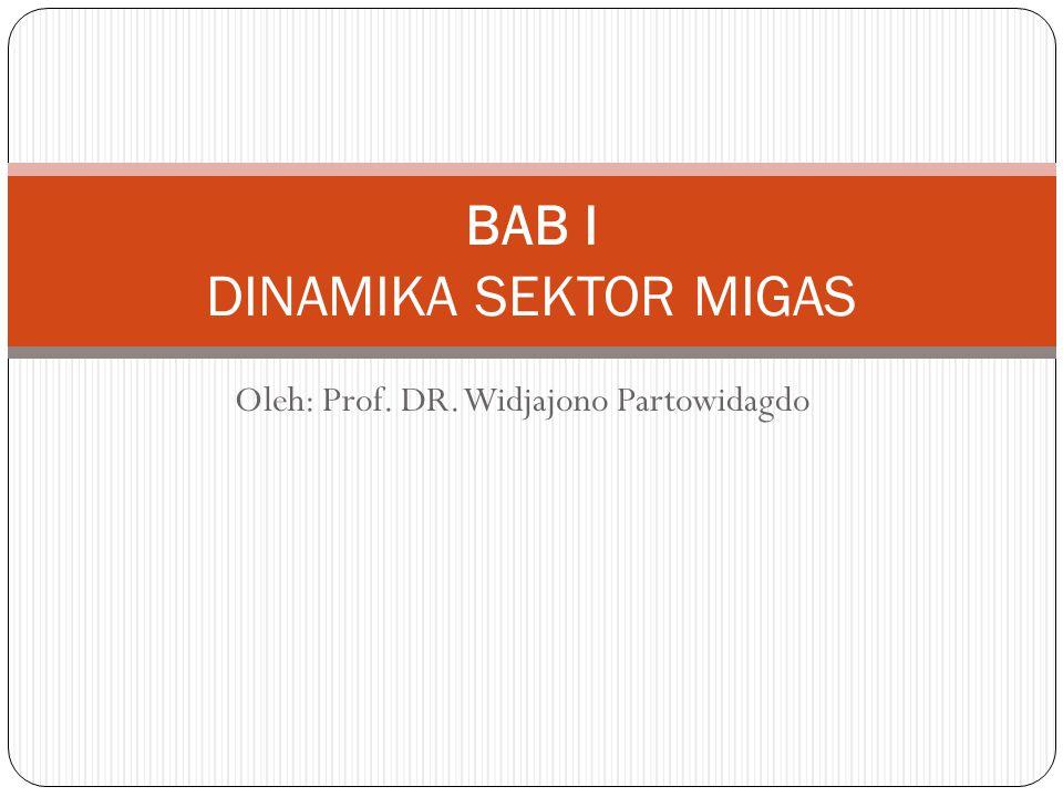 BAB I DINAMIKA SEKTOR MIGAS