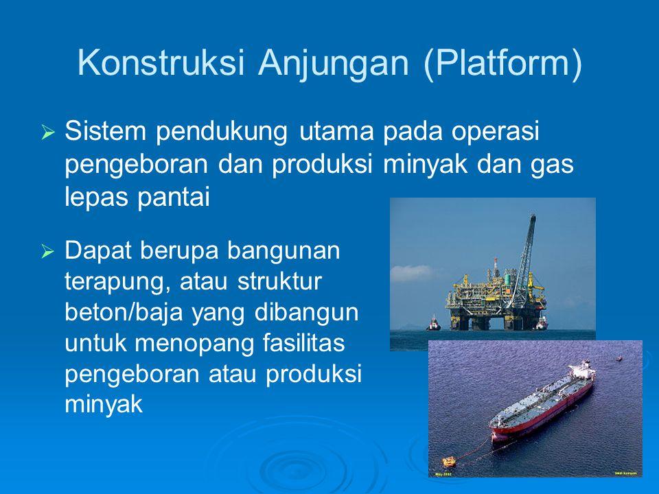 Konstruksi Anjungan (Platform)