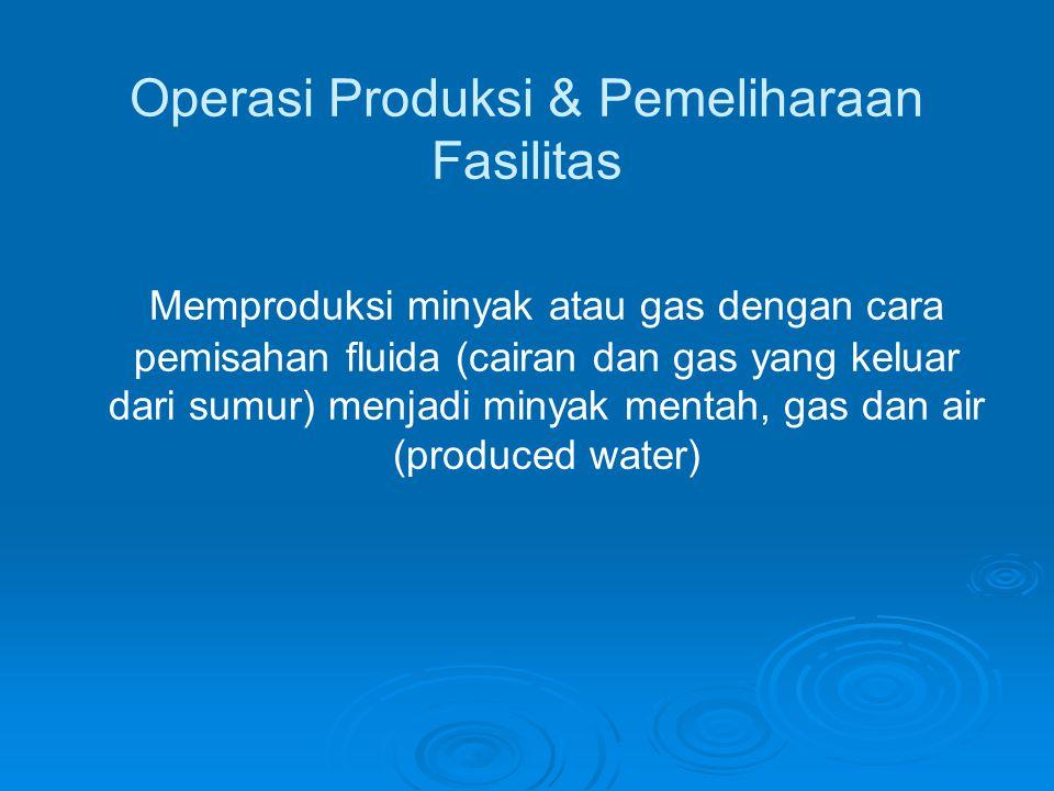 Operasi Produksi & Pemeliharaan Fasilitas
