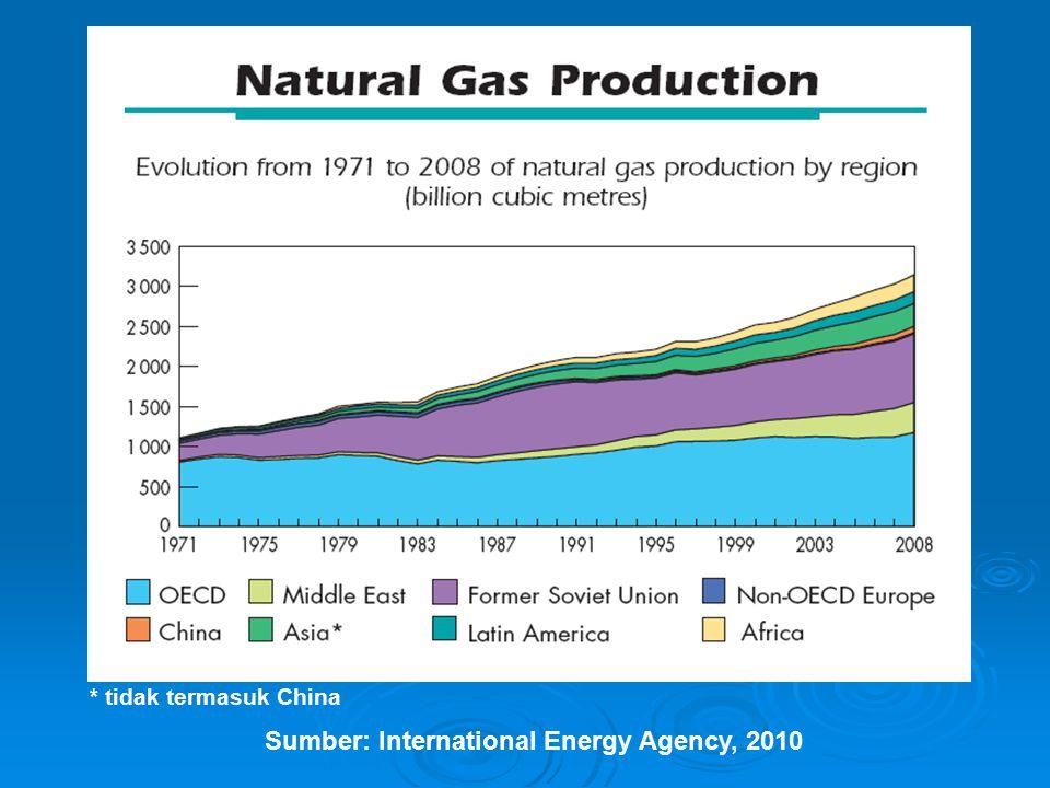 Sumber: International Energy Agency, 2010