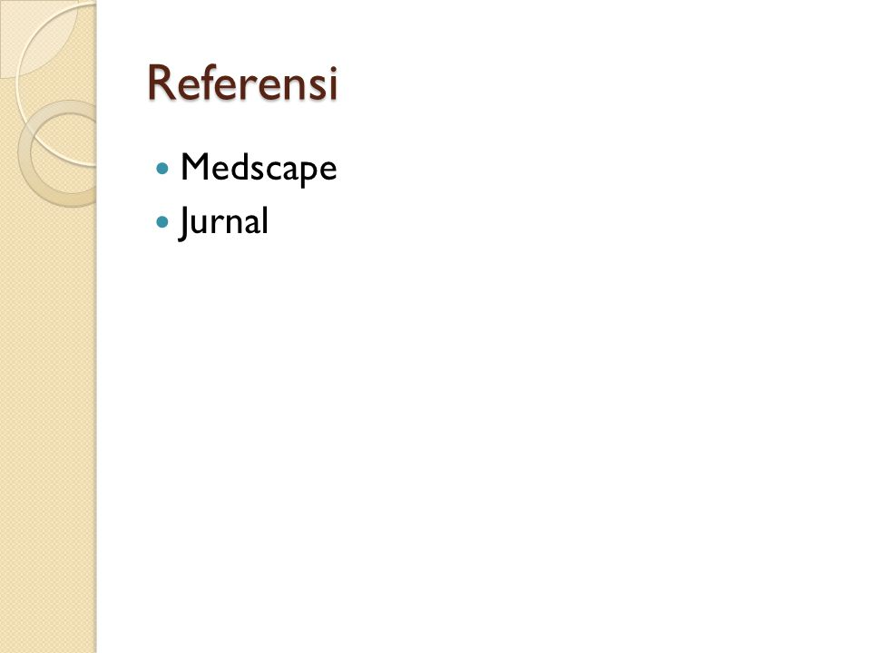 Referensi Medscape Jurnal