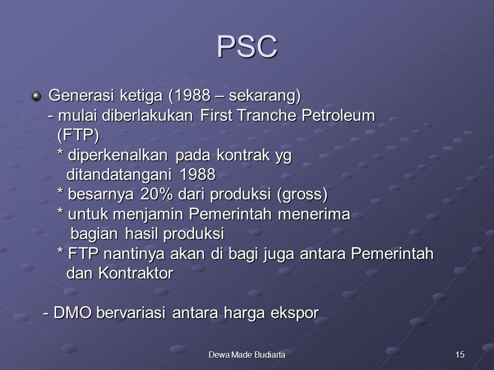 PSC Generasi ketiga (1988 – sekarang)
