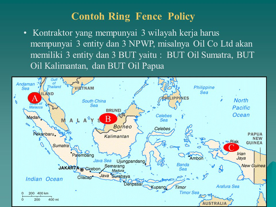 Contoh Ring Fence Policy