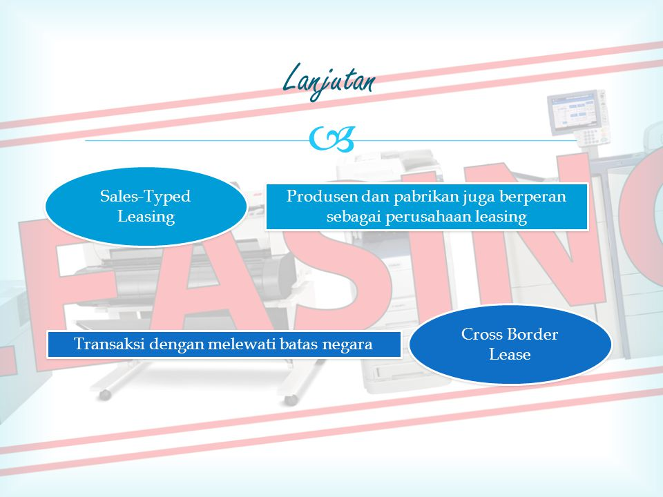 Lanjutan Sales-Typed Leasing