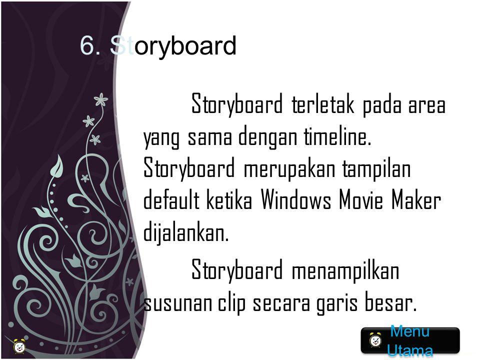 6. Storyboard